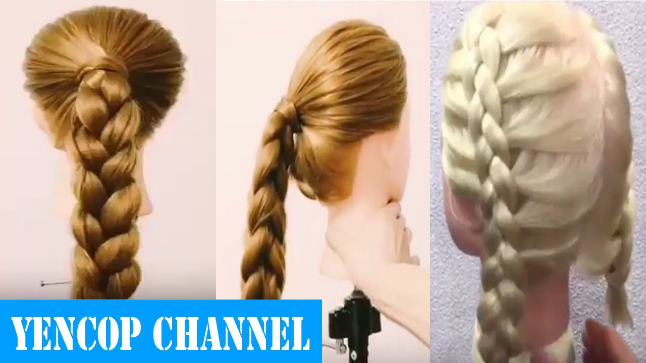 How To Hairstyles 3 Easy Hairstyles For Long Hair To Do Yourself  How To Hairstyle