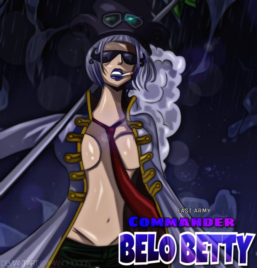 One Piece 904 Revolutionary Army Belo Betty Colors by ...