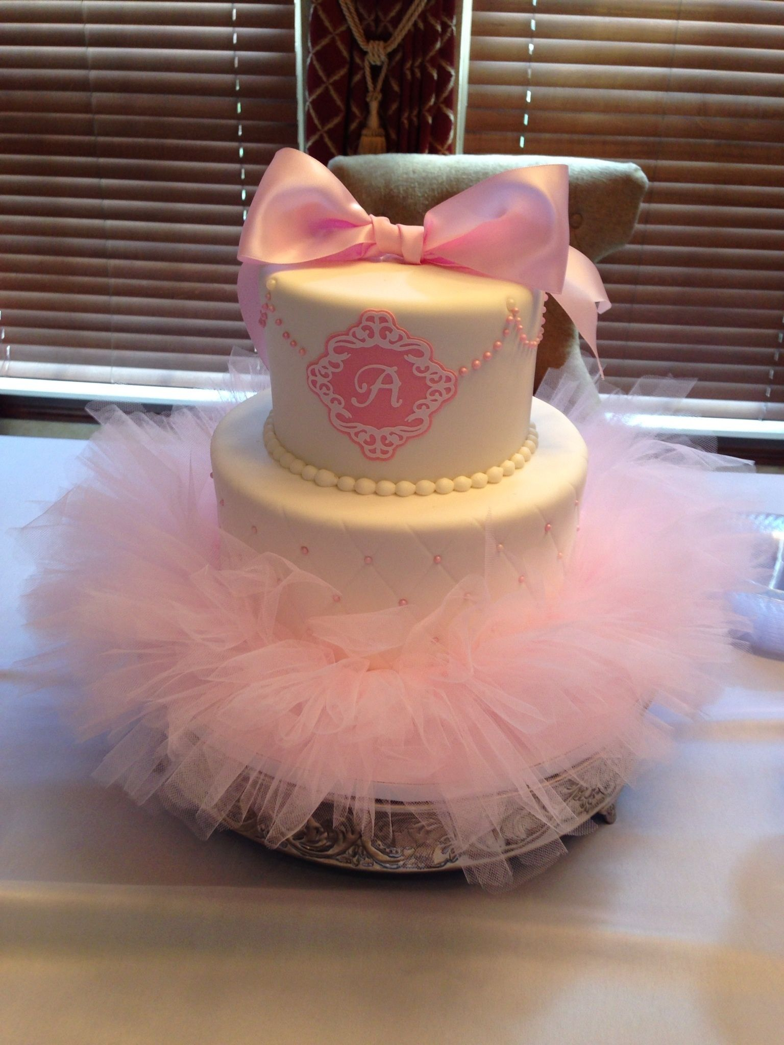 Adorable cake for a little ballerina! | Great Day to Party ...