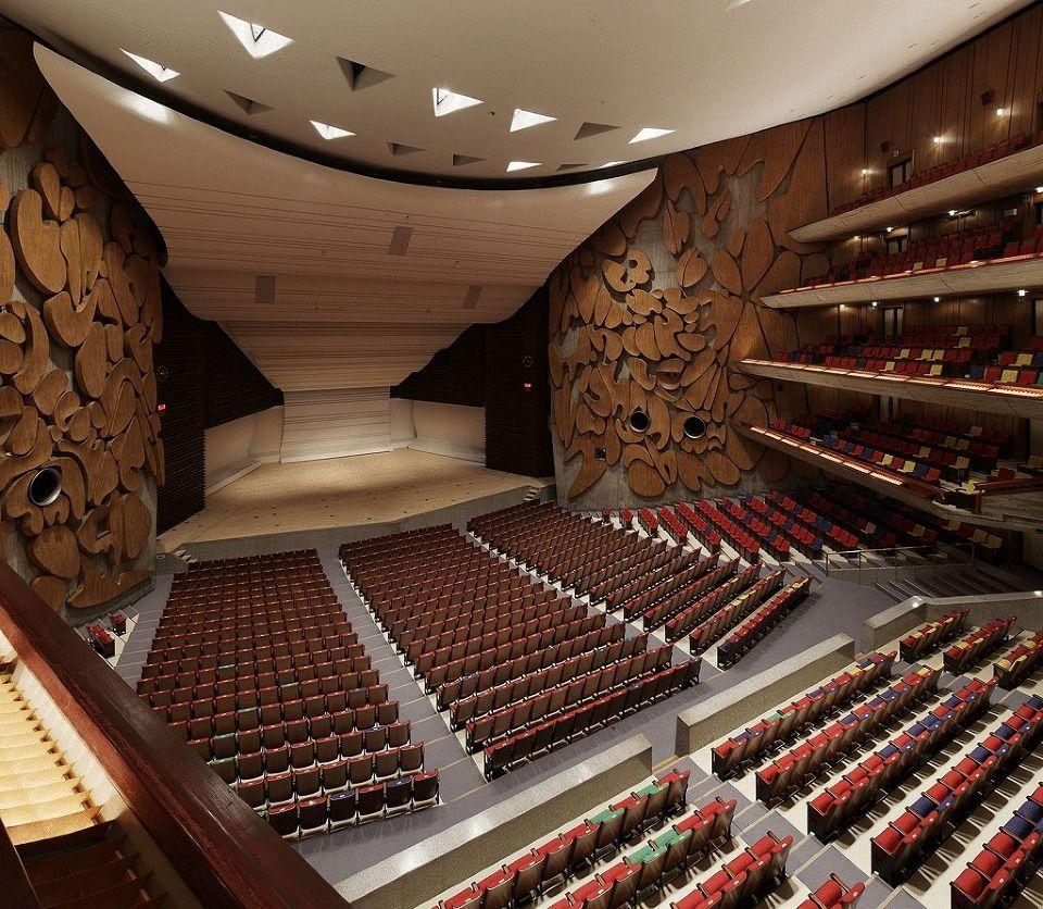 Tokyo Bunka Kaikan Main Hall Concert Hall Concert Stage Design Hall