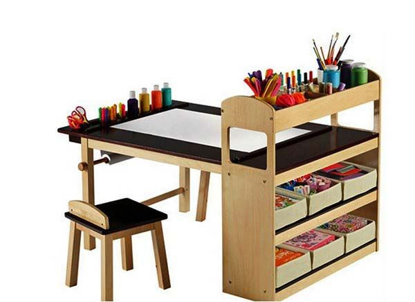 modern furniture for kids, top 15 creative tables for kids rooms