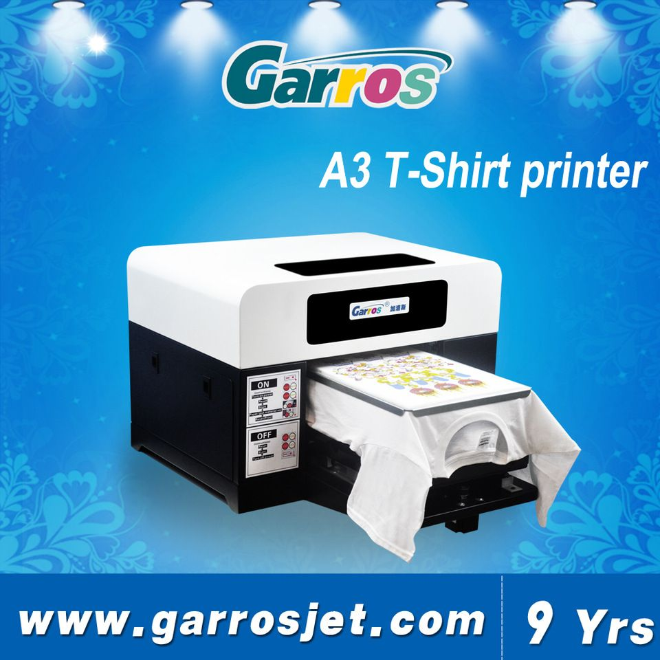 5271128ee A3 size digital T shirt painting machine custom shirt printing machine