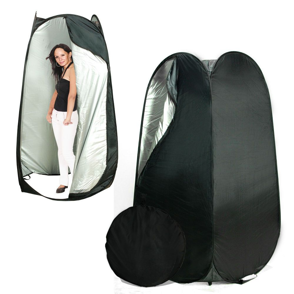 Portable Pop Up Black Dressing Room Model Changing Fitting Tent Outdoor C&ing  sc 1 st  Pinterest & Portable Pop Up Black Dressing Room Model Changing Fitting Tent ...