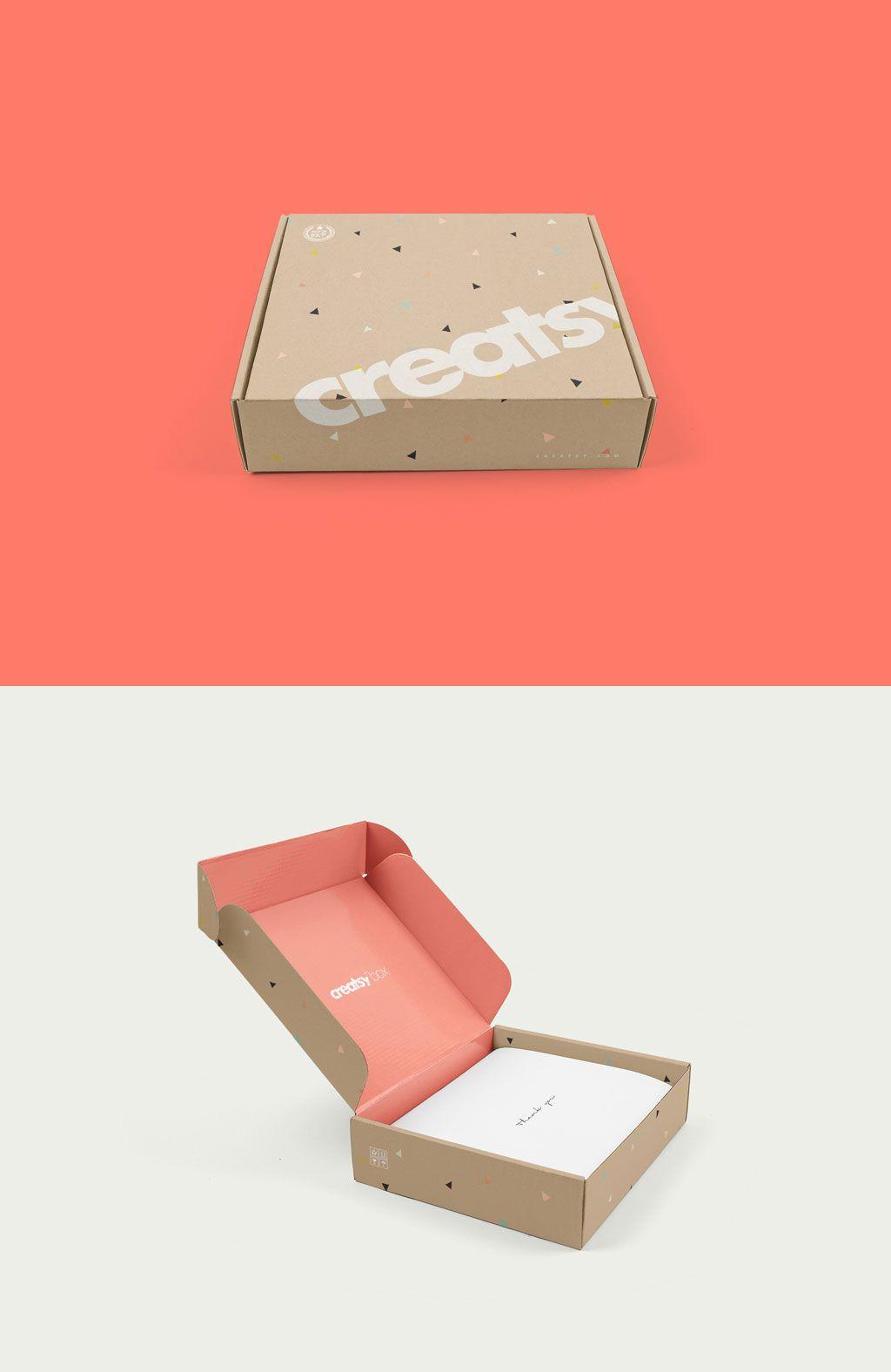 Download Free Mailing Box Mockup Fotografia De Produtos Embalagens Cartao De Visita