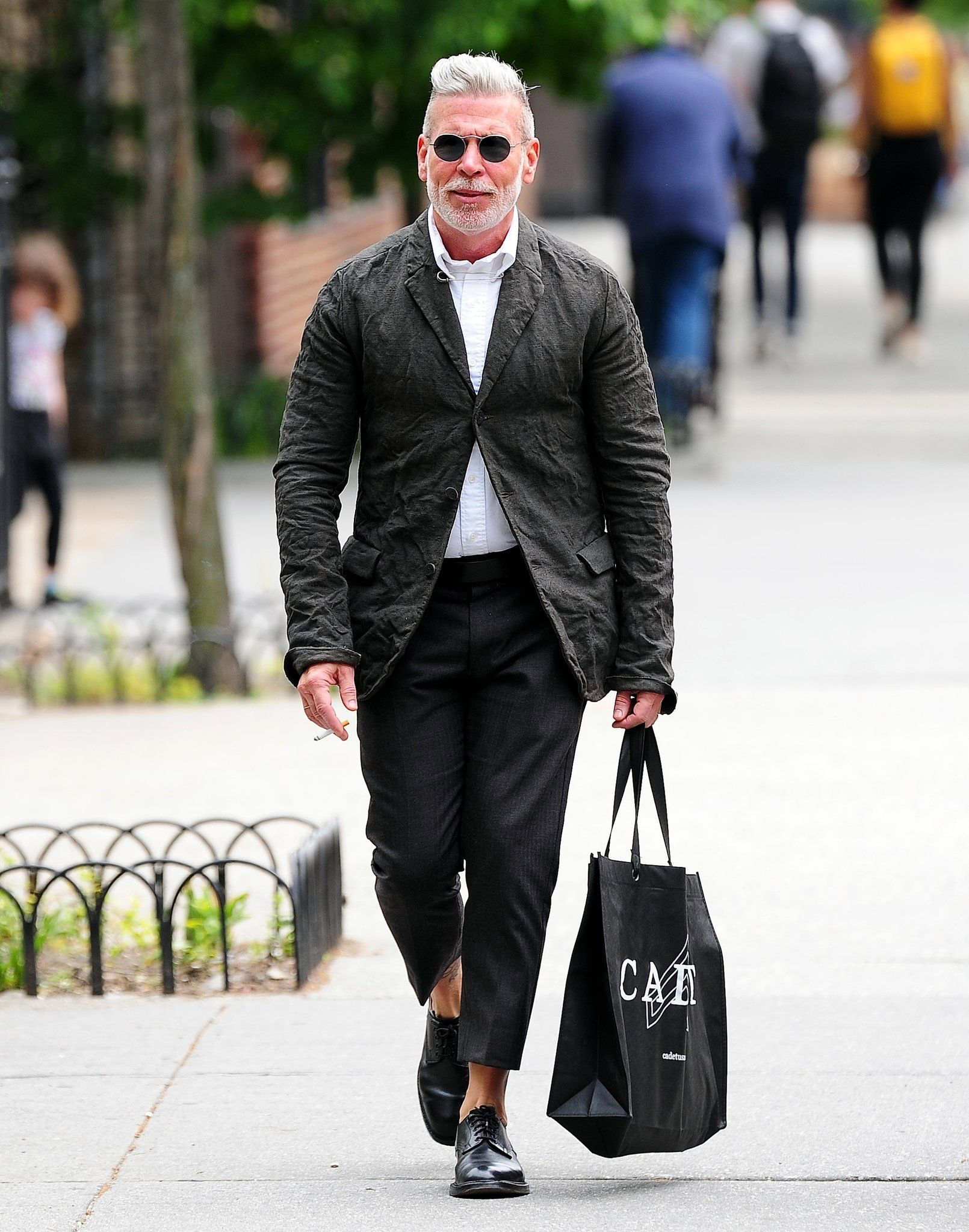 Nick Wooster, from Instagram to a Mens Fashion Design
