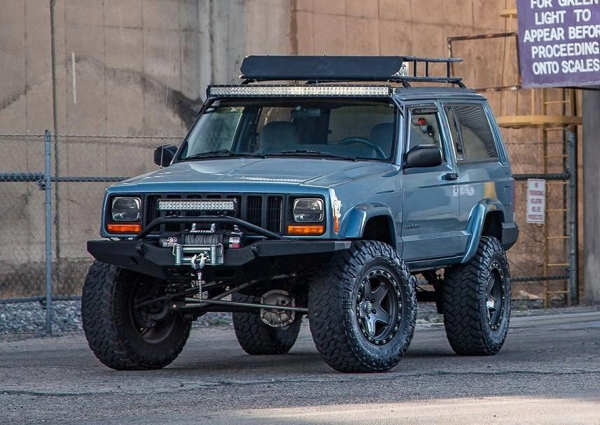 Bid for the chance to own a Modified 1998 Jeep Cherokee at
