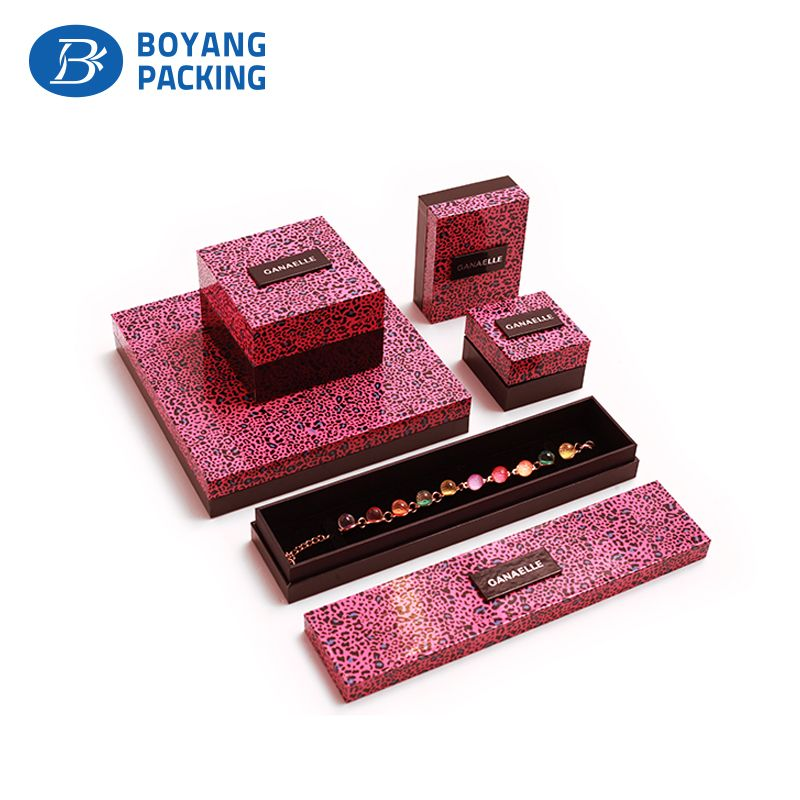 Professional custom jewelry box jewelry bag and other accessories