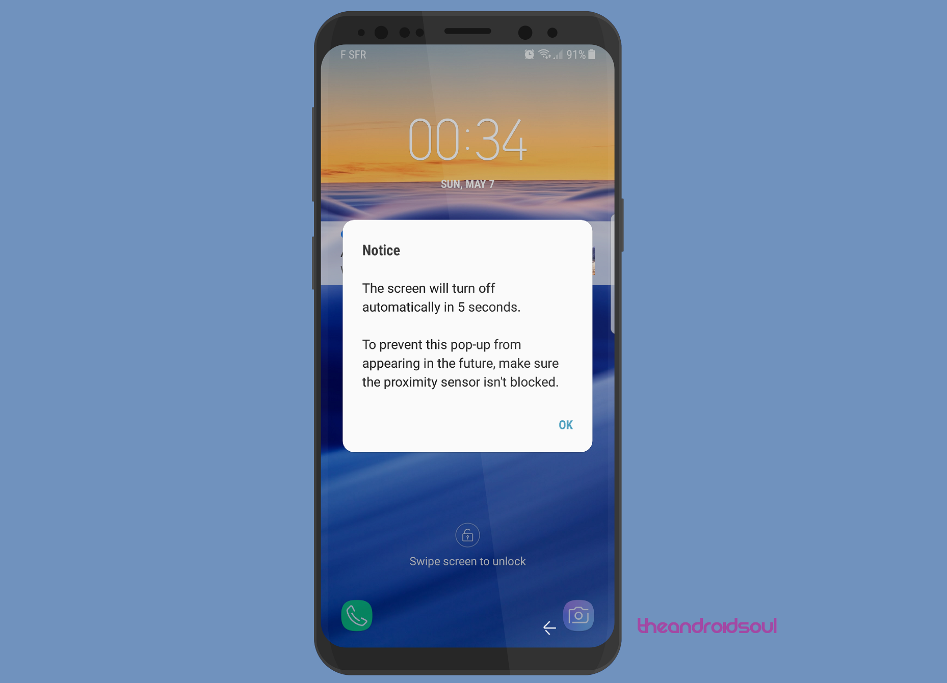 Facing Proximity Sensor Issues On Your Galaxy S8 Galaxy S8 Sensor Tech Info