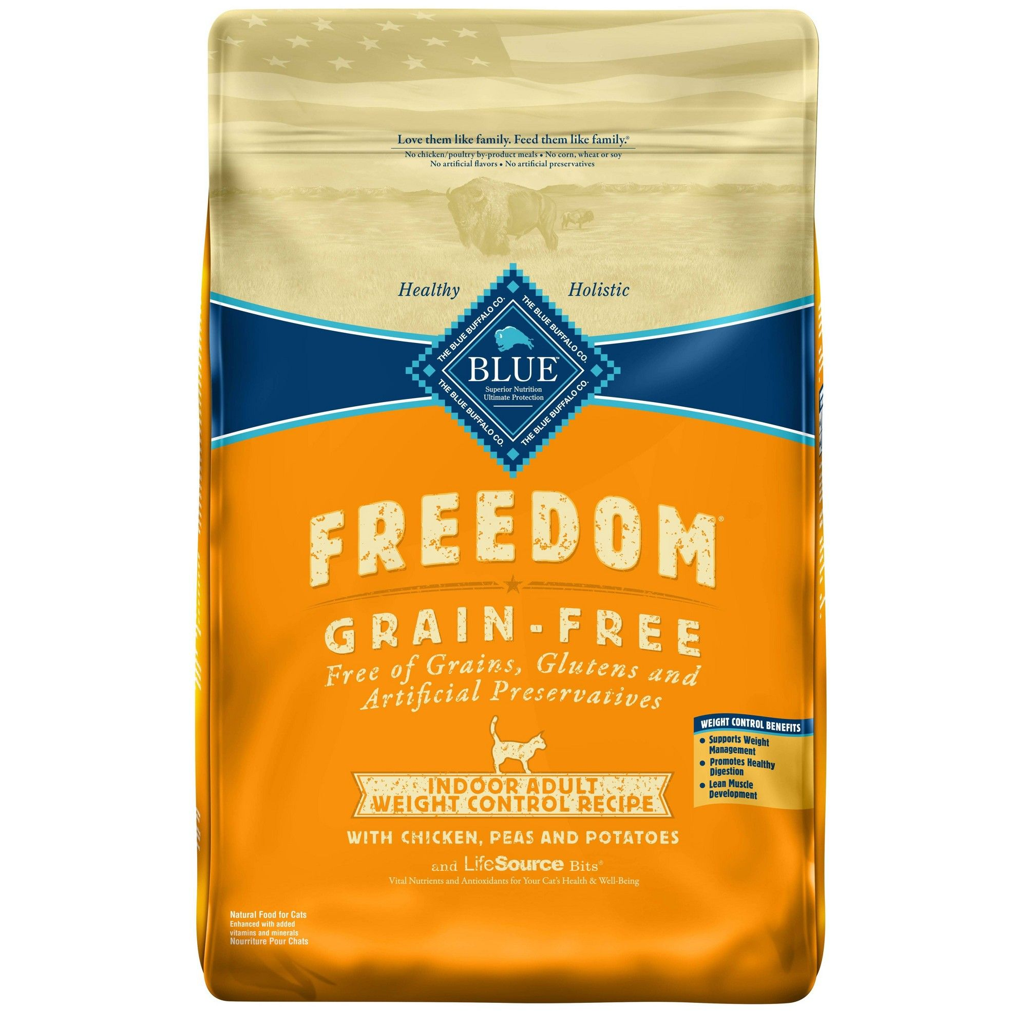 Blue Buffalo Freedom Indoor Weight Control Chicken Dry Cat Food