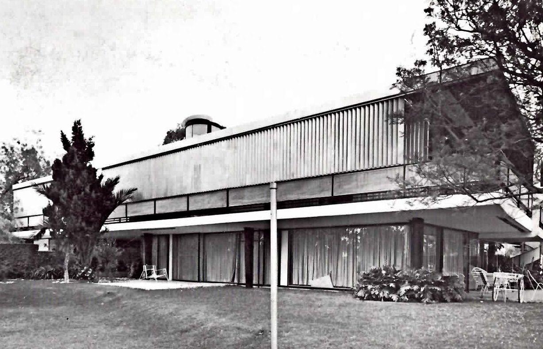 Casa Catán Paseo De La Reforma No 2135 Lomas De Chapultepec México Df 1953 Arq Teodoro González De León Architecture Modernist Modern