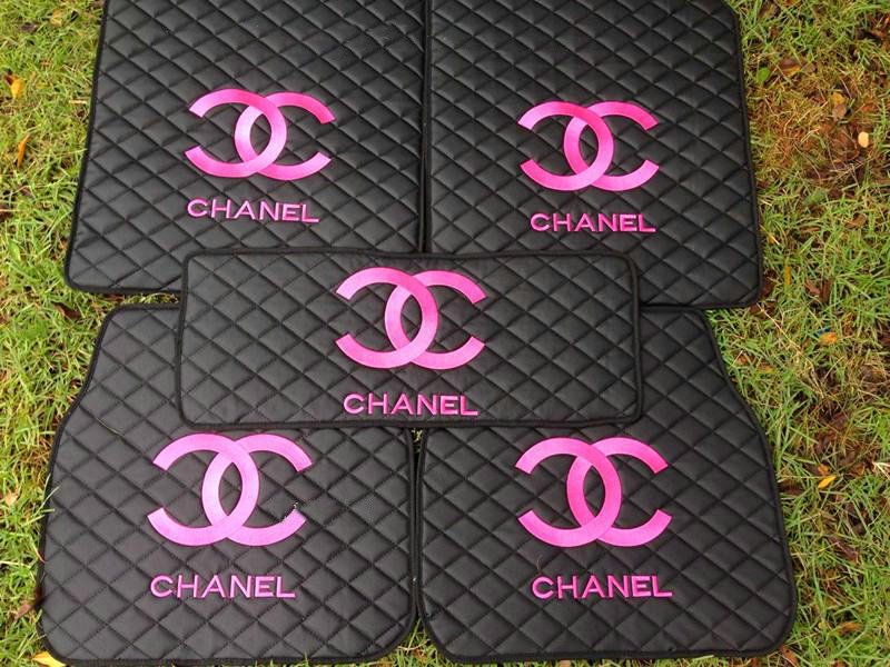 Buy Wholesale Furry Chanel Universal Automotive Carpet Car Floor Mats Leather 5pcs Sets - Black from Chinese Wholesaler - i-bay.cn