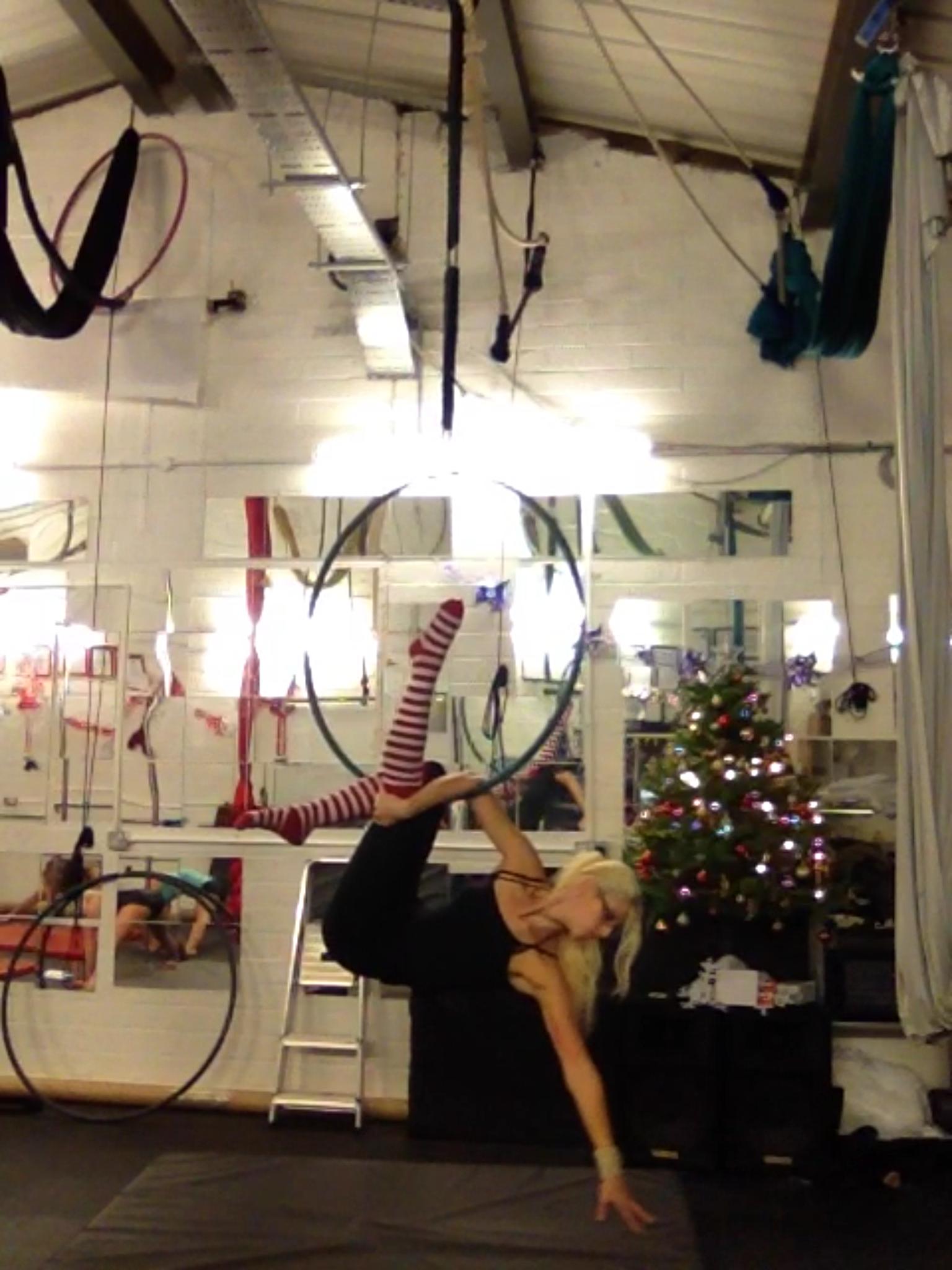 Amy Capper At Spin City Newbury Aerial Fitness Aerial Hoop Lyra Aerial Hoop