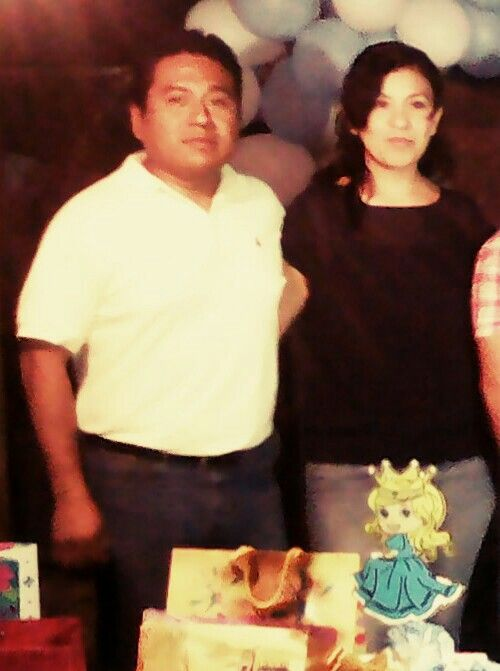 Yo y mi esposa