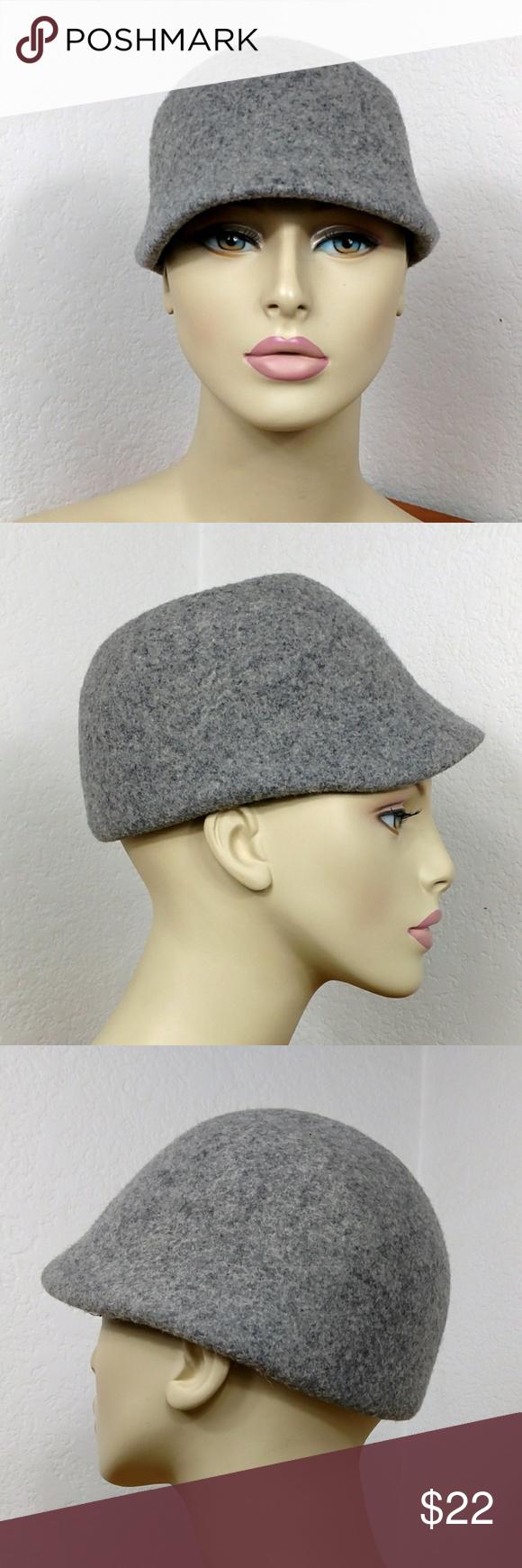 Vintage H&M Genuine Basque Ascot flat cap hat grey Vintage H&M Genuine Basque Ascot flat cap hat grey Beret M56 Men's Women's H&M Accessories Hats