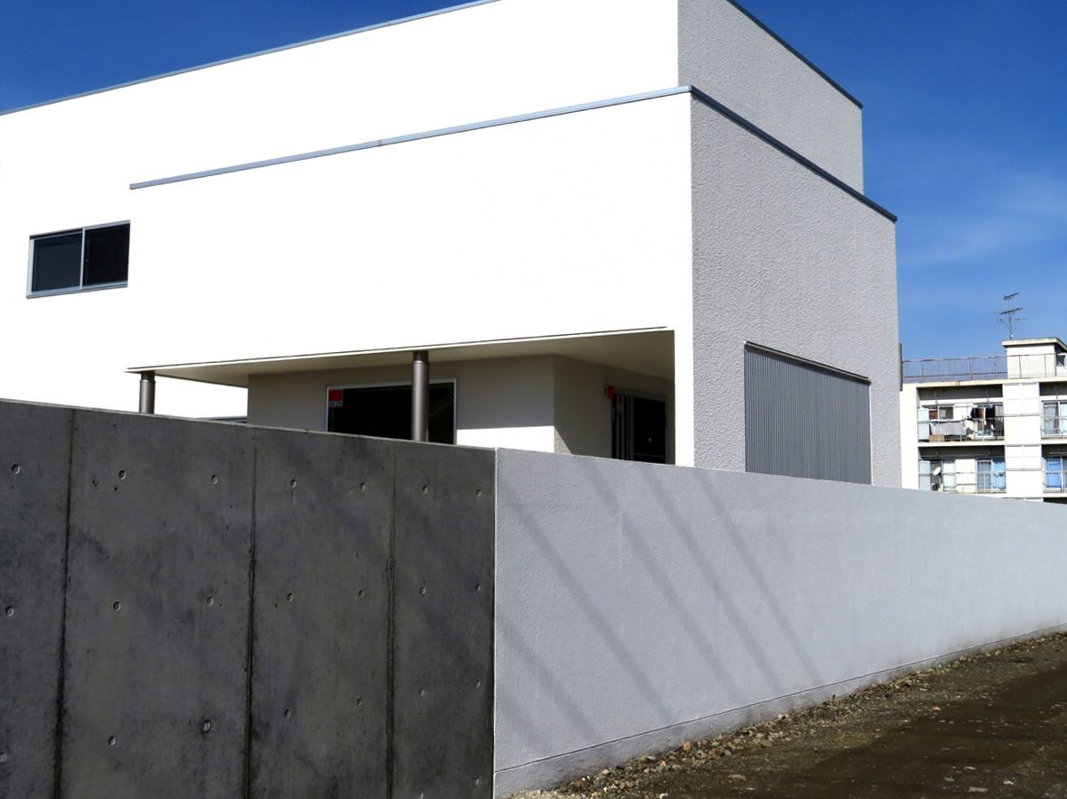 グランドアートウォール 塀の高さ1 5 2 0mまでの施工事例です