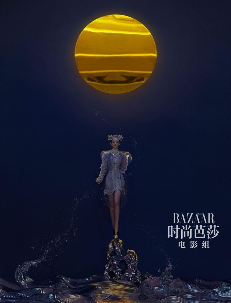 Ward Ivan Rafik Captures Actress Ni Ni in Dior Haute
