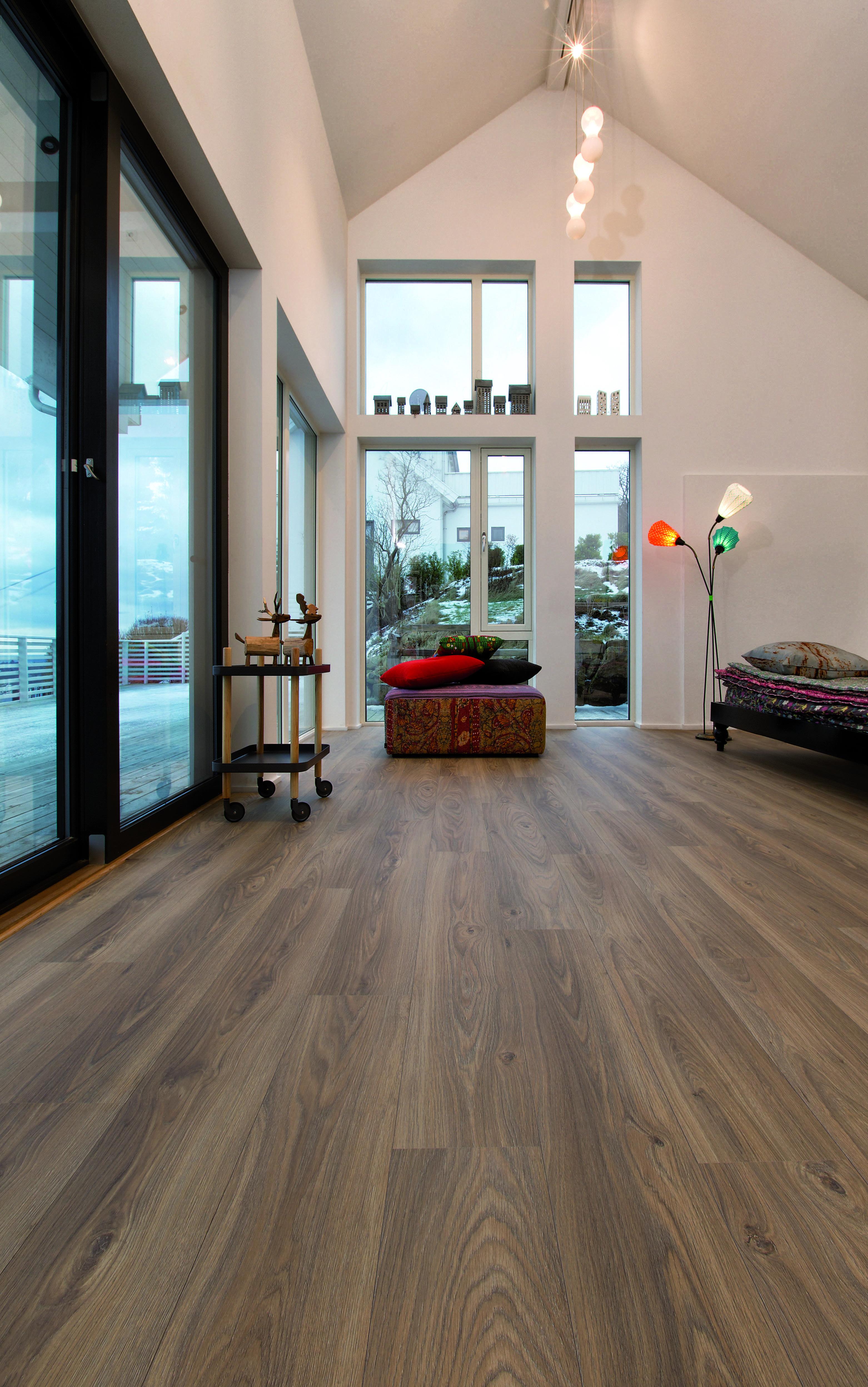 vloer woonkamer, laminaat woonkamer, laminaat bruin, vloeren ...