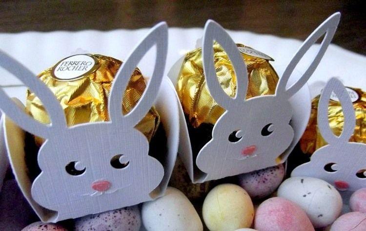 Mini Osterhasen Für Ferrero Rocher Bonbons