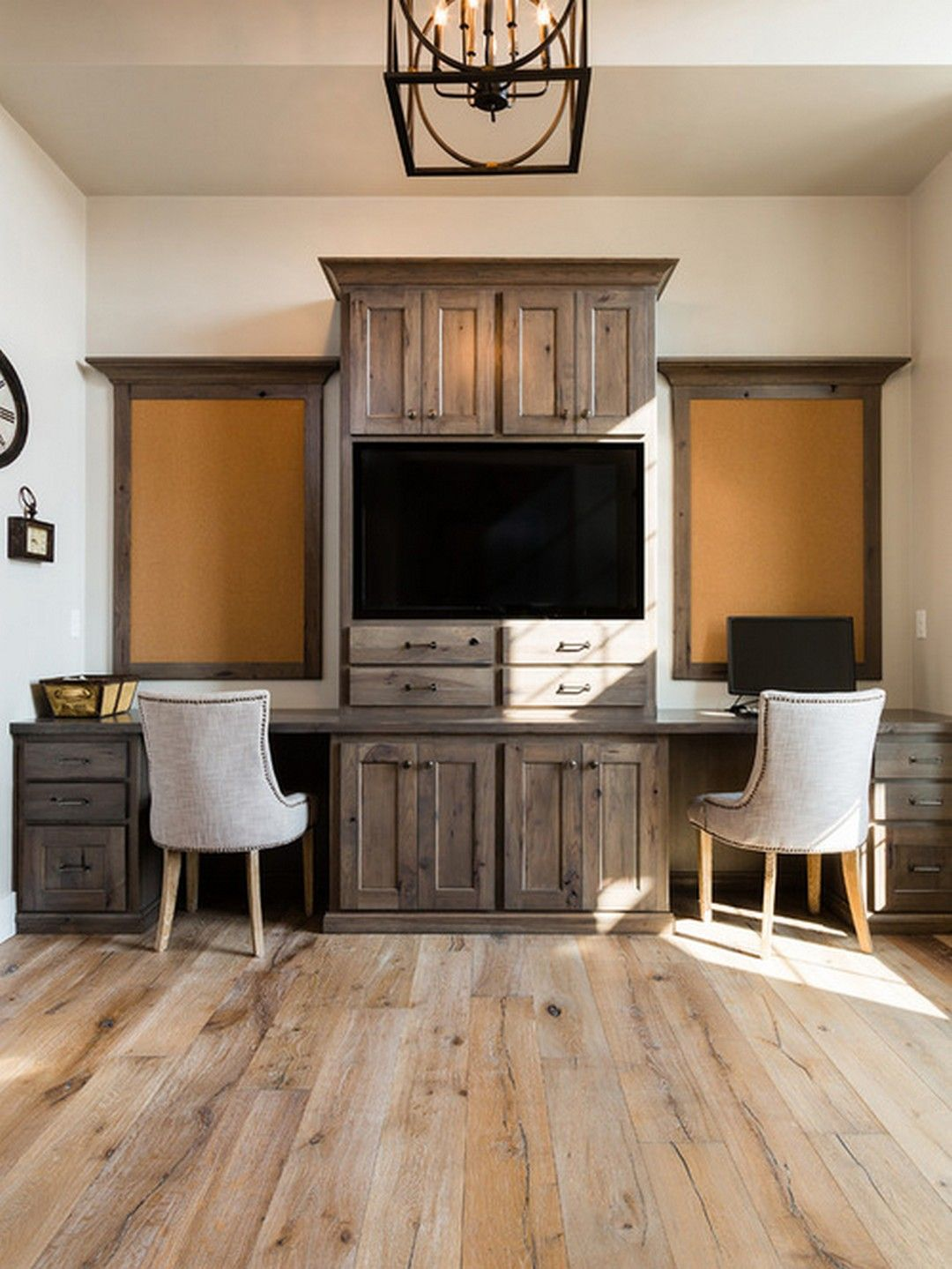 rustic home office ideas to get vintage look your home office
