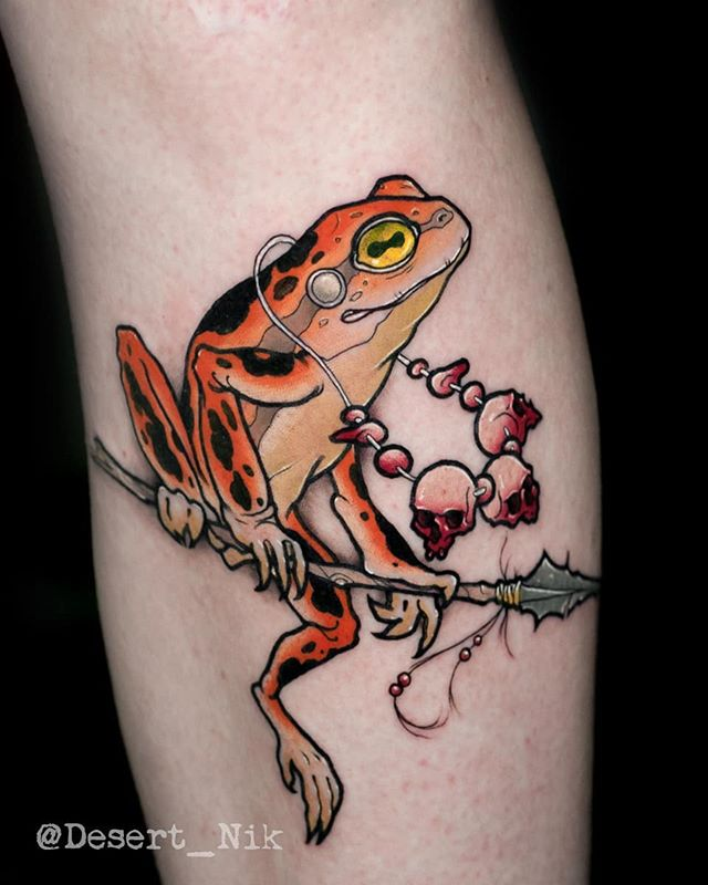 Pin By Sarah Schmidt On Tattoos In 2020 With Images Frog Tattoos Ink Tattoo Neo Traditional Tattoo