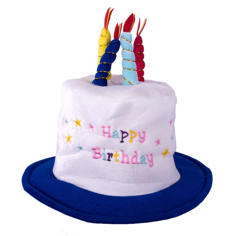 Throw A Happy Birthday Party Wearing Sweet Hat With Candles One Size For Most Children And Adults