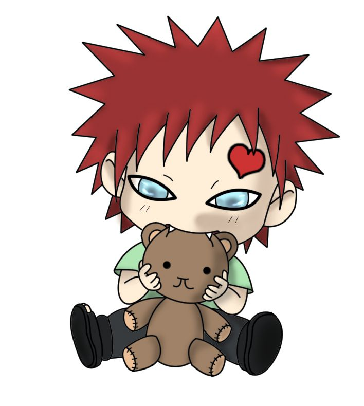 Lee Hugs Gaara Chibi Style Naruto Gaara Gaara Naruto Art