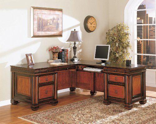 Wood L Shaped Desk Hba193 By Coaster Home Furnishings 1194 10 Block Feet Keyboard