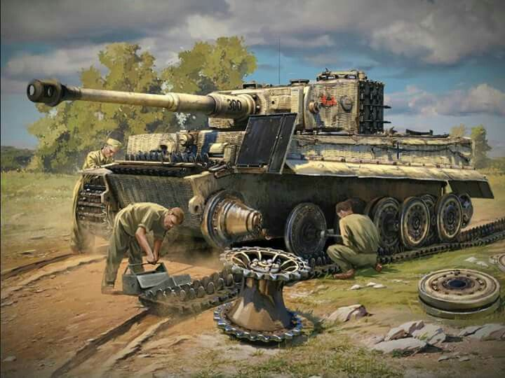 Pin on Military Tank Art