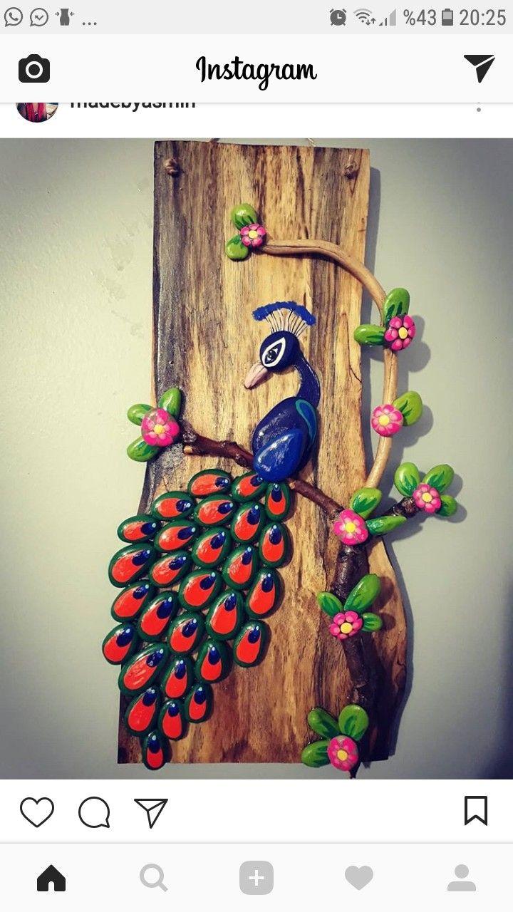Pin De Yasemin K Em Tas Boyama Tablo Artesanato Com Pedras Arte