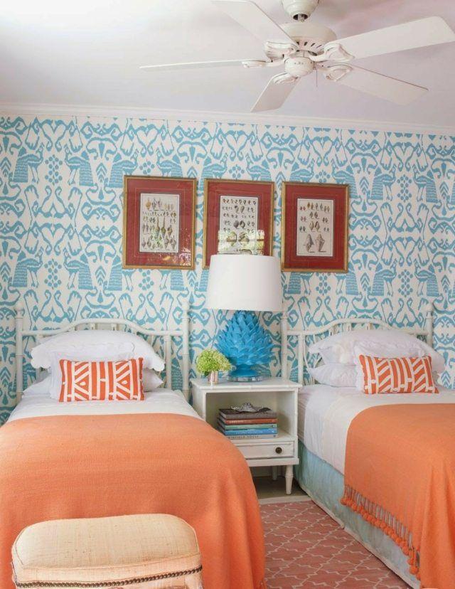 Koralle und Blau | new home | Pinterest | Blau, Gute laune und Laune