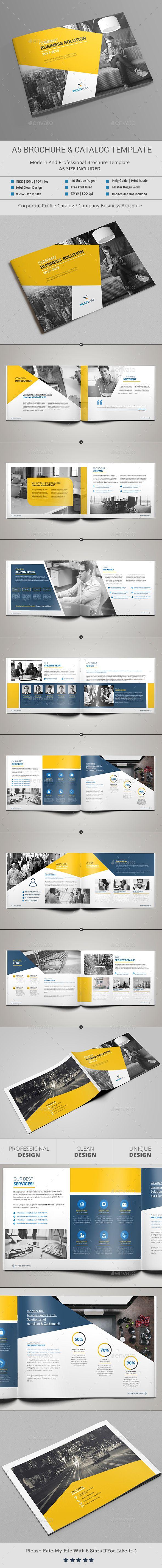A5 Brochure & Catalog   Asas y Revistas