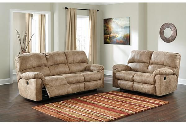 The Stringer Power Reclining Sofa From Ashley Furniture HomeStore  (AFHS.com). With The Thick Padded Arms And Supportive Bustle Back Design  All Beautifully ...