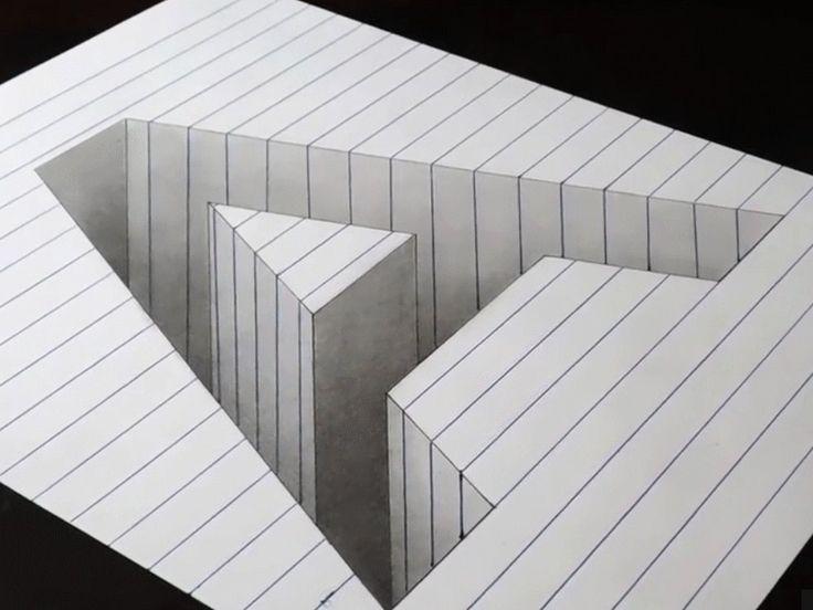 Optical illusions simple #optical #illusions #simple # ...