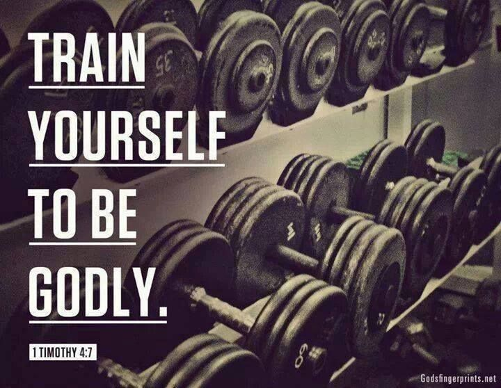 Train Yourself To Be Godly Godly Man 1 Timothy Timothy 4