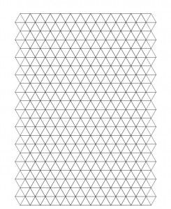 triangle graph paper template koni polycode co