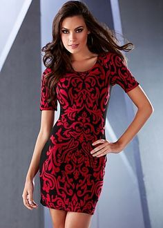 red sweater dress - Google Search | Cute Dresses and skirts ...