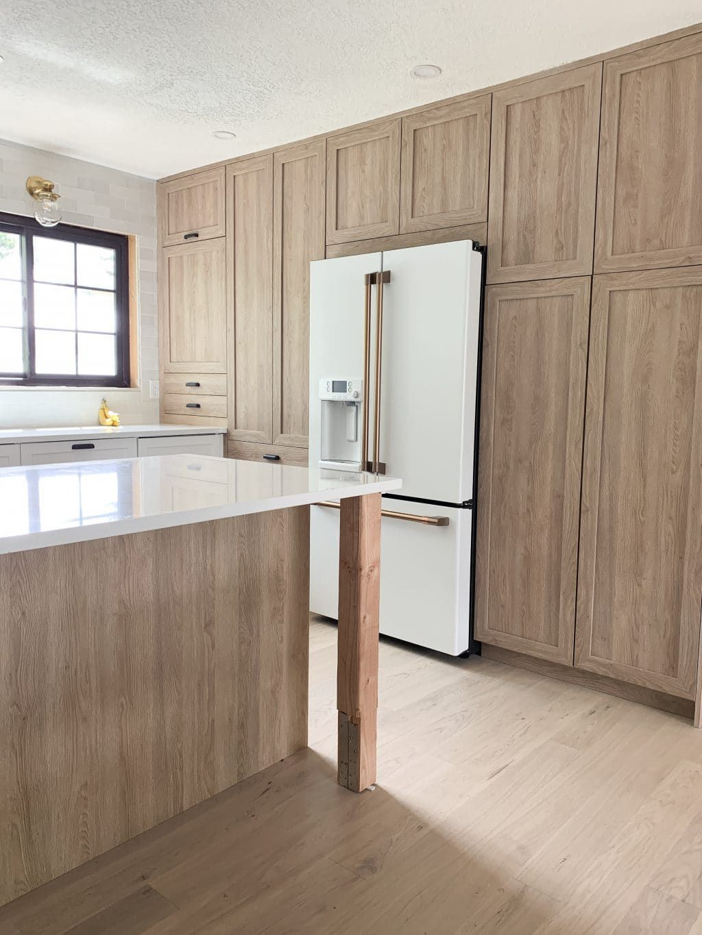 Everything You Need To Know About Using Semihandmade Fronts With Ikea Cabinets And Our Cove Line In The Fullmer Kitchen Ikea Kitchen Replacement Kitchen Doors Ikea Kitchen Cabinets