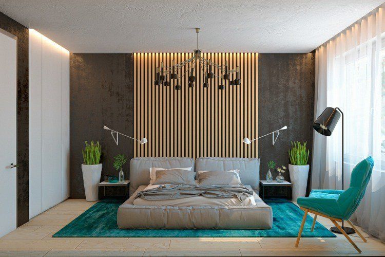 lambris mural design et panneaux d co en lamelles de bois. Black Bedroom Furniture Sets. Home Design Ideas