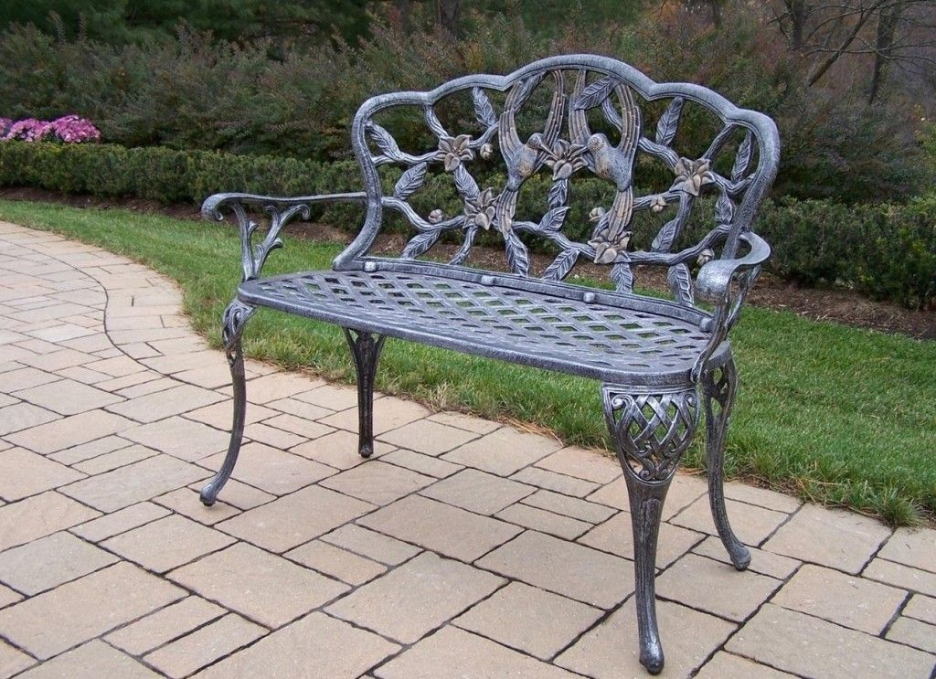 Sensational Aluminum Garden Benches Sale Hummingbird Loveseat Bench Andrewgaddart Wooden Chair Designs For Living Room Andrewgaddartcom