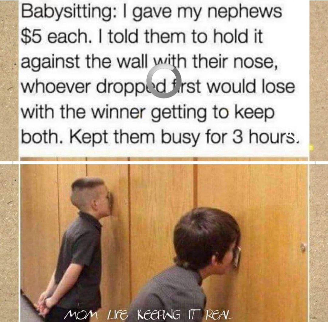 Pin by Michelle Frank on Funny Stuff Babysitting quotes