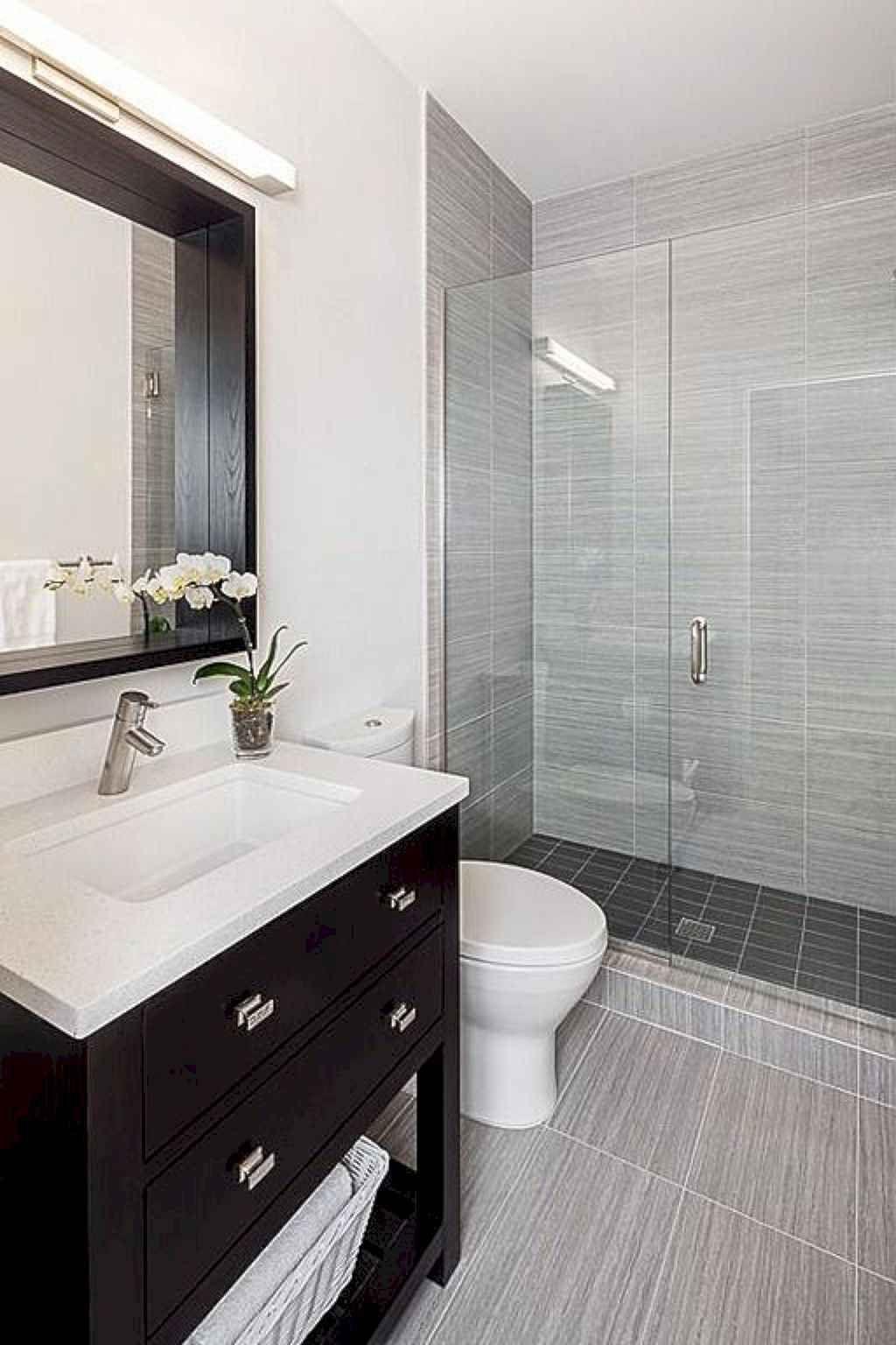 Awesome Small Bathroom Design Ideas 51 Bathroom Design Small Small Bathroom Small Grey Bathrooms