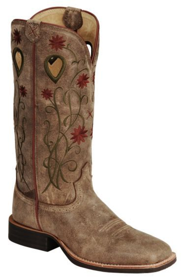 cfa0ace5c86 Twisted X Floral Stitched Roughstock Cowgirl Boots - Steel Toe ...