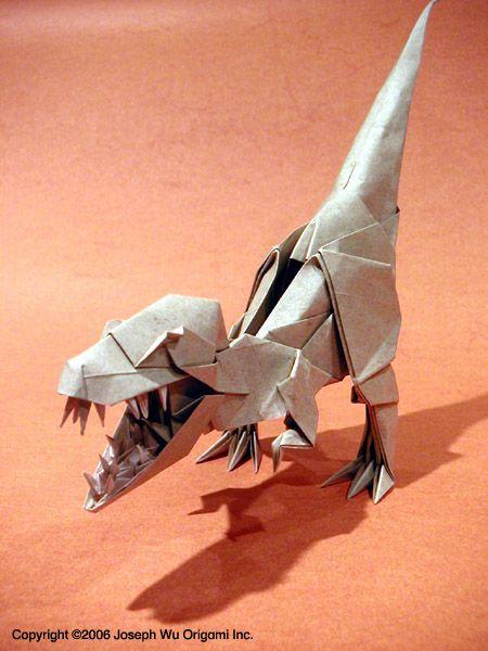 T Rex Origami