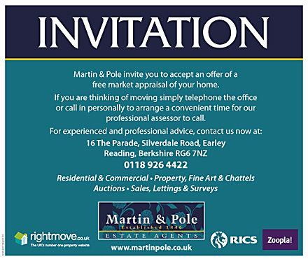 Another take on the estate agents invitation for a valuation, this - now hiring flyer template