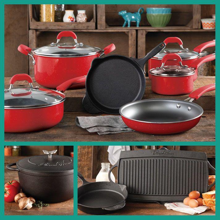 pioneer woman floral cookware. pioneer woman cookware!! cast iron beauties! floral cookware