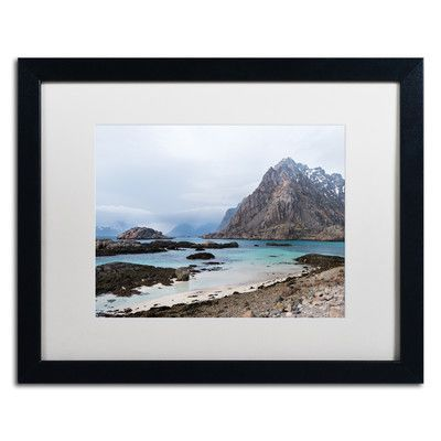 """Trademark Art """"Running out of Time"""" by Philippe Sainte-Laudy Matted Framed Photographic Print Size: 1"""