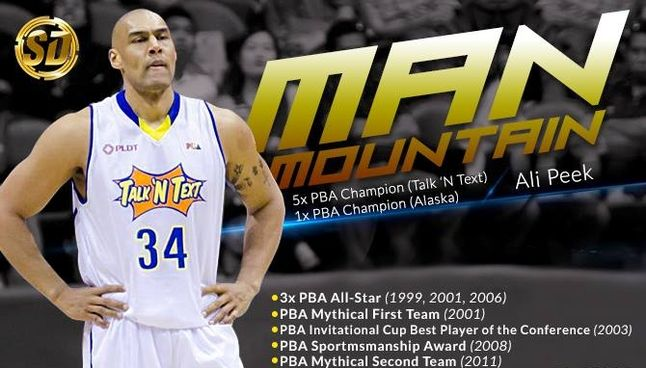 Man Mountain Calls It Quits Basketball Pba One Team Best Player All Star