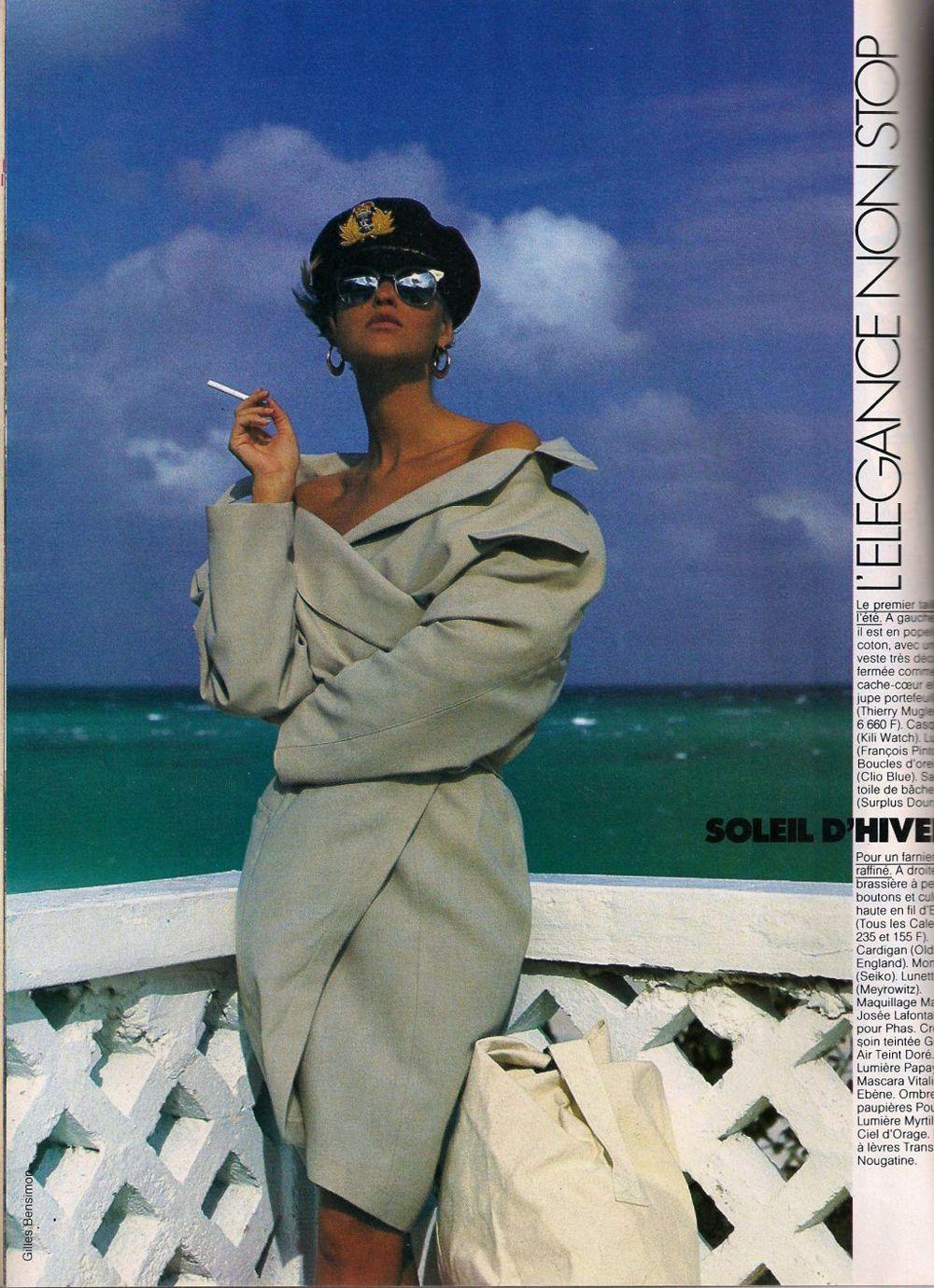 Vintage Vogue Karlas Closet Vintage Editorials Vintage Vogue 80s Fashion