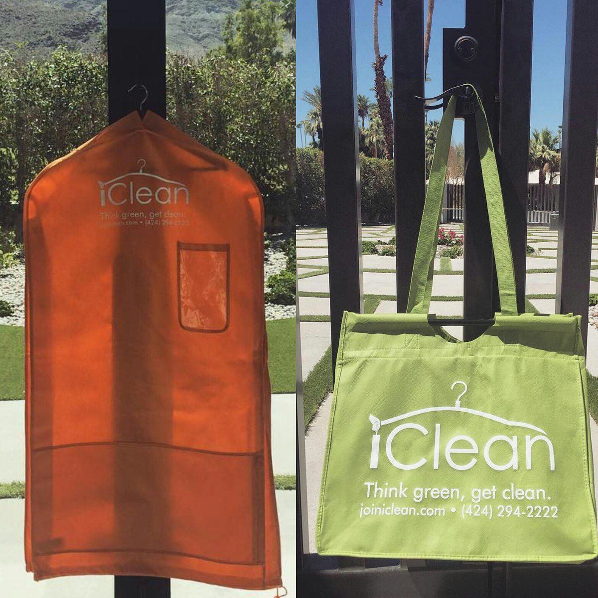 Soaking In The Sun With Iclean Dry Cleaning Laundry