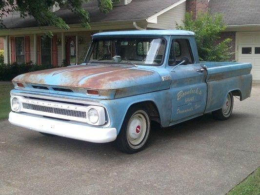1965 Chevrolet Pickup 1965 Chevrolet C10 Swb Patina Shop Truck